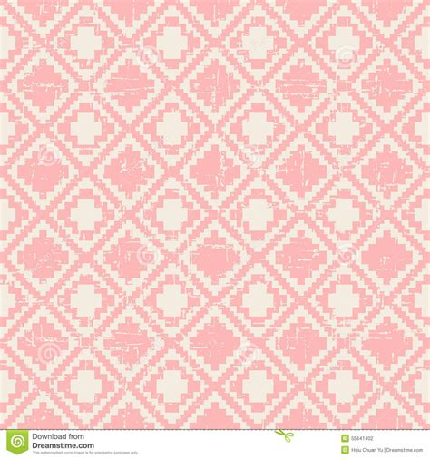 diamond pattern pink wallpaper seamless worn out vintage pink pixel diamond check pattern