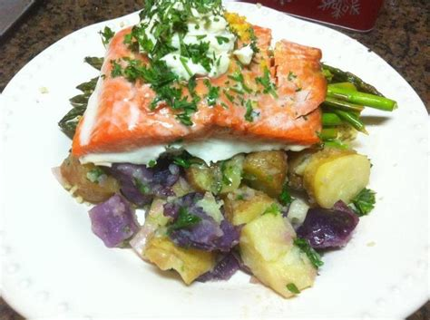roasted salmon nicoise platter recipe ina garten food 17 best images about food fish on pinterest grilled