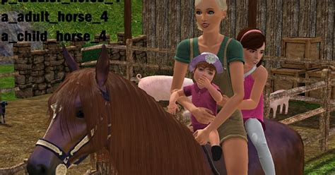 jamee s sims 3 february 2012 jamee s sims 3 jamee s family horse riding pose pack