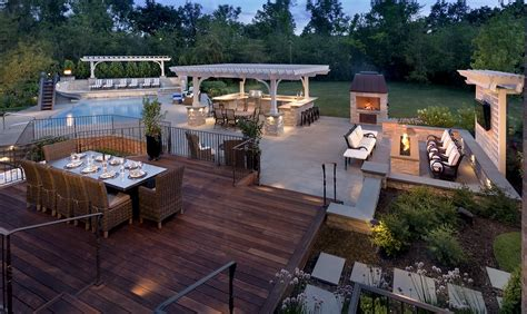 Great Oaks Plumbing by 100 Backyard Designs With Pool And Outdoor Kitchen