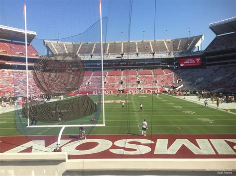 bryant denny stadium student section bryant denny stadium section s5 rateyourseats com