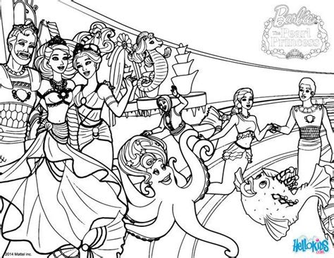 Seaworld Creatures Coloring Pages Hellokids Com Pearl Princess Coloring Pages