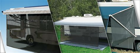 rv awning screens rv awnings patio awnings more carefree of colorado