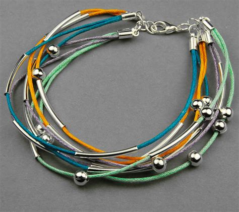 cool jewelry to make how to make a bracelet out of cotton wax cord cool