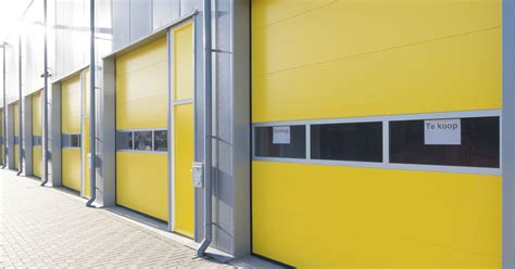 Commercial Overhead Garage Doors Yellow Garage Door Wageuzi