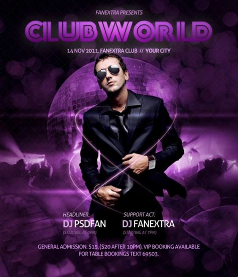 photoshop poster design video tutorials design a super slick club poster photoshop tutorials
