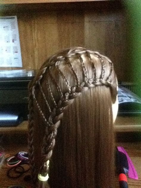 tutorial kepang rambut ladder 17 best images about ladder braid hairstyles on pinterest