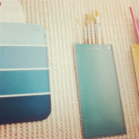 diy paint swatch crafts