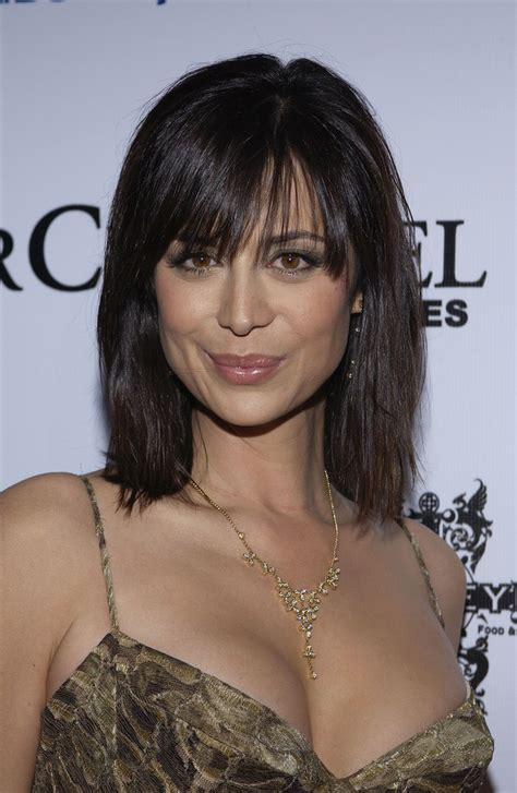 Catherine Bell Hairstyles by Catherine Bell Medium Cut With Bangs Looks