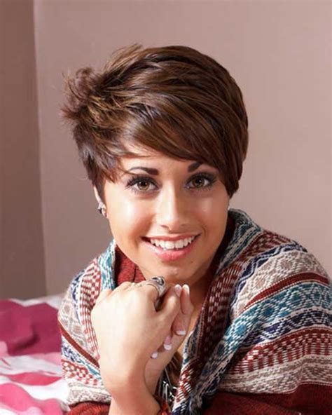 brown and blonde pixie cuts 20 best short brown haircuts short hairstyles 2017