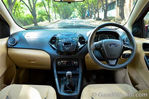 Ford Aspire Interior by Ford Figo Aspire Petrol And Diesel Road Test Review