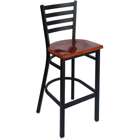 alfa bar stools metal bar stool french industrial wood and metal bar