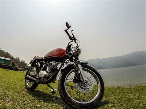 Bike Modification Rule In Nepal by Honda Cg Made It To Pokhara Bikerzaus Nepal