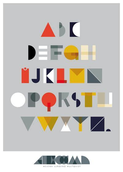 clever print alphabet print graphics and