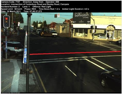 how to know if red light camera caught you how to appeal a red light camera ticket victoria