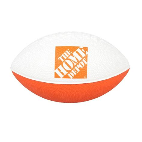 the home depot 6 in outdoor foam football 1424334 00