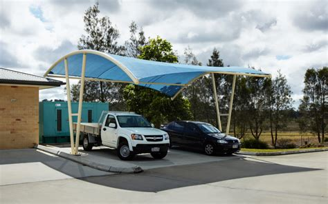 Awnings For Cers by Car Park Shades Car Park Shade In Uae