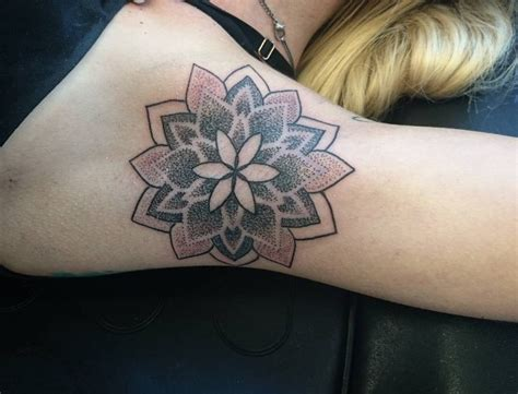 geometric tattoo underarm mandala armpit tattoo 1000 geometric tattoos ideas