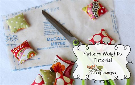 pattern weights how to use pattern weights tutorial fat quarter friday