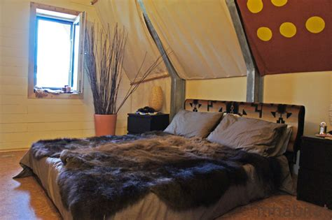native american bedroom design team canada s trtl solar decathlon house is a modern take
