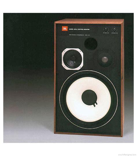 Loudspeaker Jbl jbl 4312 manual monitor loudspeaker system hifi engine