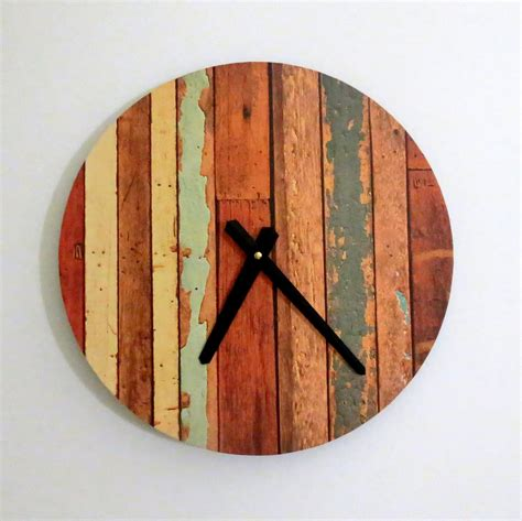 The Handmade - 30 handmade wall clocks designs wall designs design