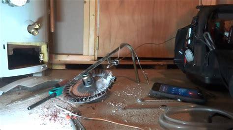 gas heater pilot light keeps going out pilot on gas water heater keeps going out youtube