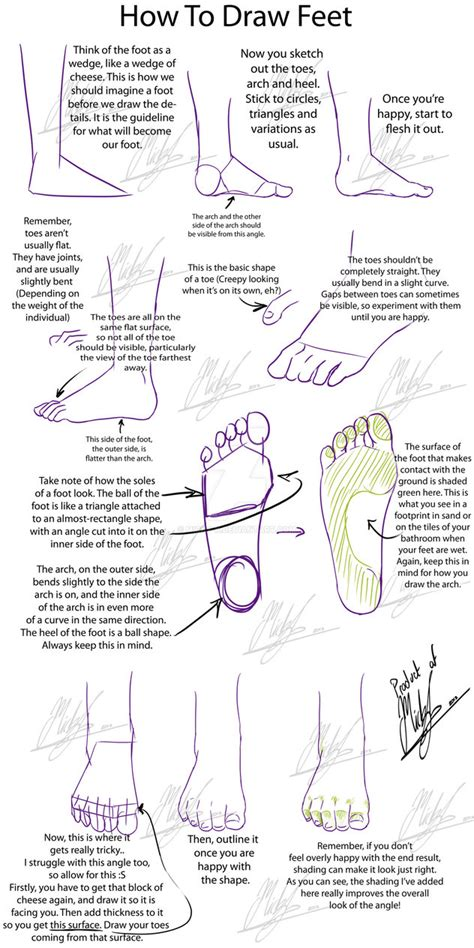 tutorial rufus 2 1 tutorial how to draw feet by micky k on deviantart