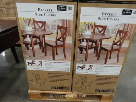 regal living regal living beckett dining chairs
