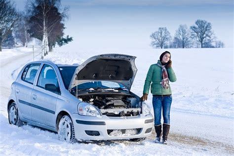 Auto Winter by Winter Car Breakdown On Phone