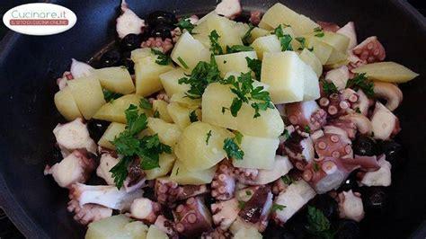 ricette per cucinare il polipo polpo con patate cucinare it