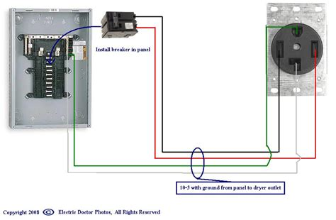 need 3prong 220 dryer wiring diagram