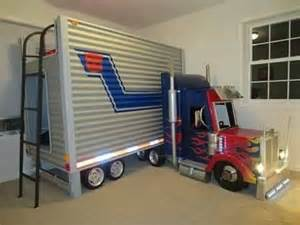 Kids Race Car Bed Tractor Trailer Bunk Bed Nursery Amp Kids Bedroom