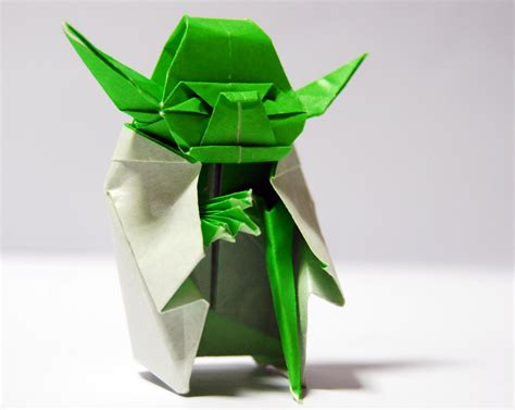 Simple Origami Yoda - origami origini e tutorial per imparare a farli one mind