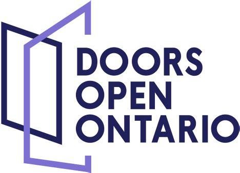 doors open ontario 2018 doors open ontario