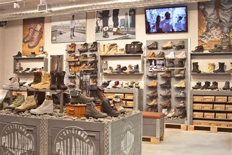 boots store palladium boot store new york 187 retail design