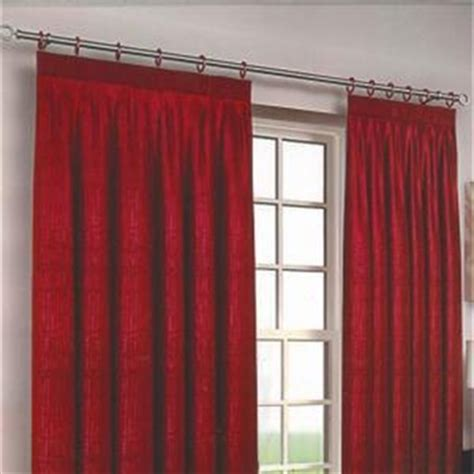 Eclipse Red Blackout Lined Curtains Harry Corry Limited