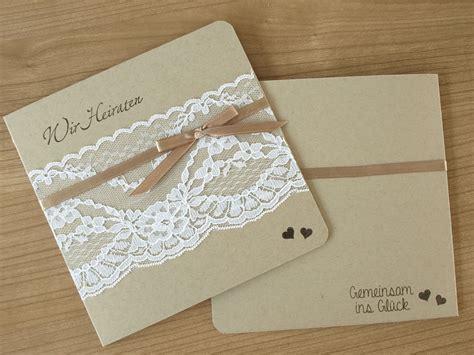 Einladungen Hochzeit Mit Spitze by Einladungskarten Mit Spitze Einladungskarten Ideen