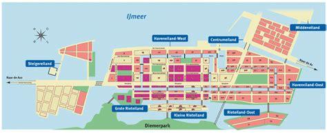 Online Site Plan ijburg de ijbrug voor en door bewoners bewoners
