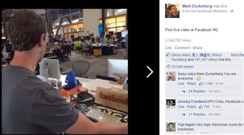 mark zuckerberg s new facebook headquarter makes him video mark zuckerberg takes you on a live tour of new