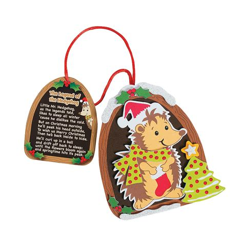legends christmas ornaments the legend of the hedgehog ornament craft kit ornament crafts crafts for
