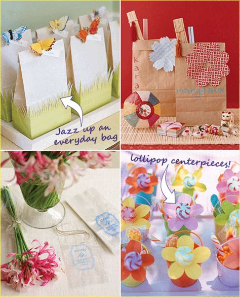 Handmade Birthday Decorations Ideas - favor ideas favors ideas