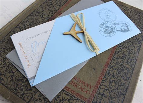 Boarding Pass Baby Shower Invitations by Boarding Pass Baby Shower Invitation