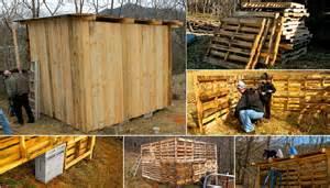 pallet barns diy project goat pallet barn home design garden