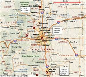 of northern colorado cus map pin by gordon on movin to colorado