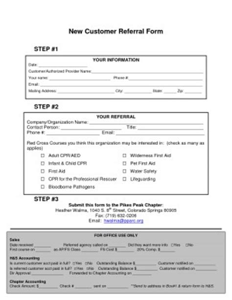customer referral form template employee referral quotes quotesgram