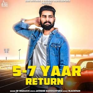 yaar return sp waraich mp song djpunjab