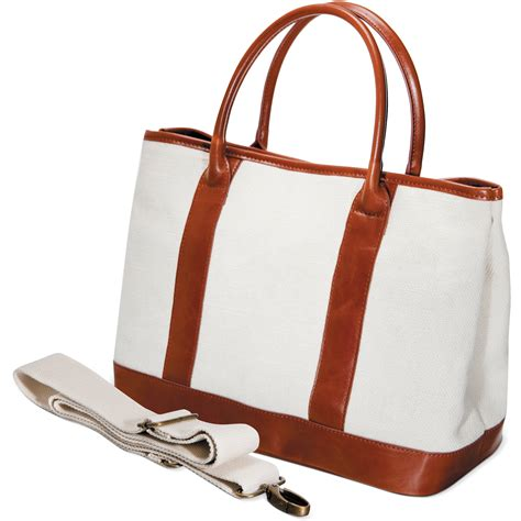 canvas boat and tote bags fujifilm canvas boat and tote off white 600012056 b h photo
