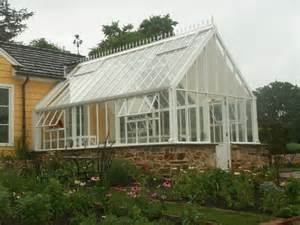 greenhouse glasshouse attached to home