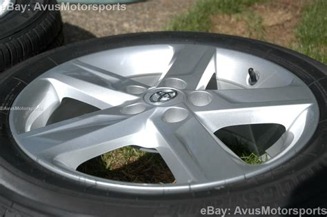 toyota camry factory wheels new 2013 toyota camry oem 17 quot factory wheels tires solara